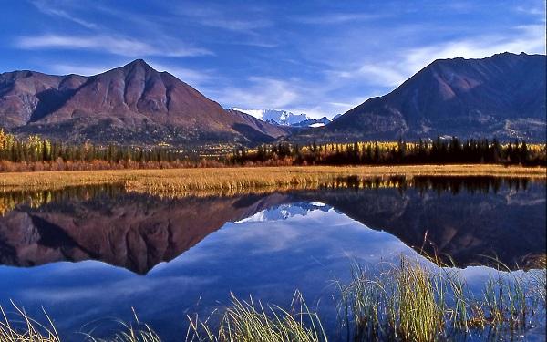 to Wrangell St Elias National Park