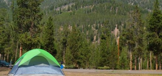 Yellowstone National Park Camping