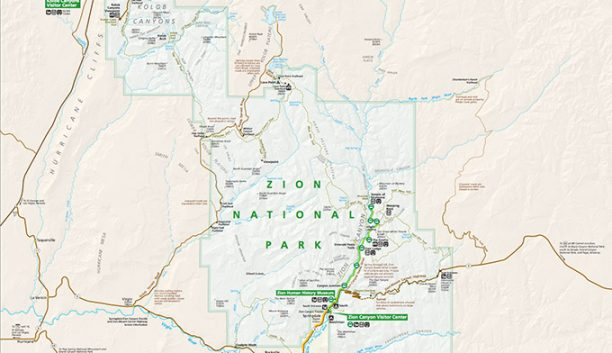 Zion National Park Map Guide
