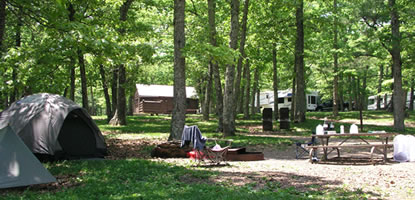 Shenandoah National Park Camping Guide