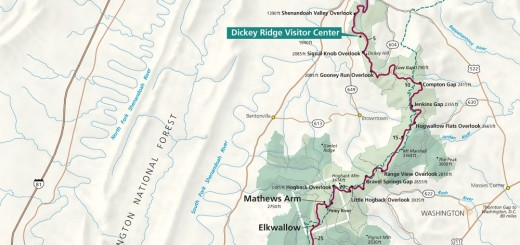 Shenandoah National Park Map Guide