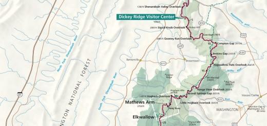 Shenandoah National Park Map Guide